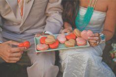 turquoise and orange wedding inspiration shoot / Christina Heaston Photography