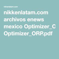 nikkenlatam.com archivos enews mexico Optimizer_ORP.pdf
