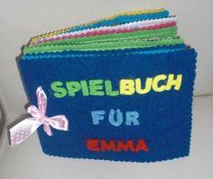 Ein Bunter Spiel  Und Lernbuch Aus Stoff Für Die Kleinkinder |  Kreativwettbewerb | Kreative.