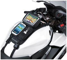 2015 Nelson-Rigg Strap Mount GPS Sport Bike Motorcycle Tank Bag Mate #NelsonRigg: