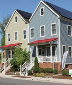 Affordable Net-Zero-Energy in Outlying D.C.