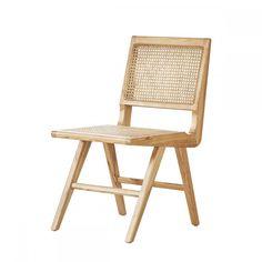 Stoel - Ruben - Naturel Rotan - Eik | Furnified Outdoor Furniture, Rattan Chair, Outdoor Decor, Chair, Outdoor Chairs, Furniture, Interior, Home Decor, Vintage Furniture