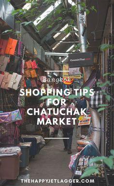Der Chatuchak Markt ist der größte Markt Bangkoks! Einkaufen in Bangkok macht hier besonders Spaß! Öffnungszeiten und Lageplan bei The Happy Jetlagger!