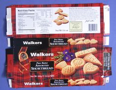 Walkers Shortbread  - miniature printable (HF) Food Template, Vintage Packaging, Doll Food, Mini Foods, Food Labels, Ag Dolls, Miniature Food, Recipe Box, Grocery Store