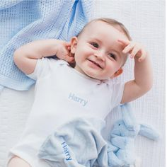 Our lovely soft, 100% cotton personalised baby grow, is one of our all time favourite gifts for newborn babies and toddlers alike. The cotton is beautifully soft against your little ones skin and the convenient envelope neckline and crotch poppers make changing a breeze. These bodysuits are a great addition to any wardrobe. For everyday wear, team it with a pair of shorts, adding a layer for the cooler evening temperatures. Newborn Babies, Newborn Baby Gifts, Personalized Baby Gifts, Baby Grows, Baby Essentials, New Moms, Bodysuits, Mom And Dad, Breeze