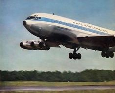 Boeing 707, Boeing Aircraft, Jumbo Jet, International Airlines, Pan Am, Flight Attendant, Back In The Day, Over The Years, Airplane