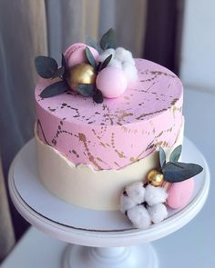 We celebrate the cake bakers. The Exquisite 🌺 Cake. Elegant Birthday Cakes, Cute Birthday Cakes, Beautiful Birthday Cakes, Gorgeous Cakes, Pretty Cakes, Amazing Cakes, Cake Cookies, Cupcake Cakes, Decoration Patisserie