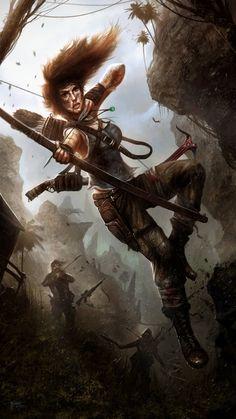 Tomb Raider - Lara Croft by Tom Edwards Tomb Raider 3, Tomb Raider Video Game, Tomb Raider Lara Croft, Rise Of The Tomb, Warrior Girl, Fantasy Characters, Book Characters, Cartoon Characters, Conceptual Art