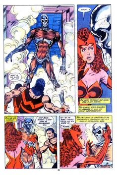 The Marvel Age of Comics, johnbyrnedraws:   West Coast Avengers #44, page 20...