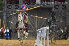 'Kaltenberger Ritterturnier' (Knight Tournament & Medieval Festival)...Castle Kaltenberg (near Landsburg am Lech, Bavaria). Usually takes place in July.