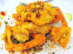 Deep Fried Lobster Tail with Garlic and Chili Pepper by Kwong Eats, via Flickr
