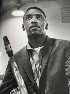 Teddy Edwards backstage at the Newport Jazz Festival // photo Jim Marshall