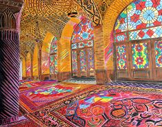 "Check out new work on my @Behance portfolio: ""NASIR OL MOLK MOSQUE COLOR FUL ART"" http://be.net/gallery/63877893/NASIR-OL-MOLK-MOSQUE-COLOR-FUL-ART"