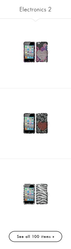 """""""Electronics 2"""" by mcmarissa68 ❤ liked on Polyvore featuring accessories, tech accessories, phones, phone cases, electronics, cases, phones and other electronics, tech, ipods and technology"""