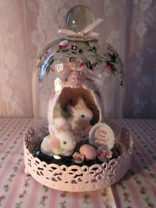shabby-sweet-hp-pink-roses-glass-dome-does-some-bunny-live-here-easter-accent