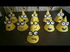 Minions Birthday Theme, Minion Party Theme, Girl Birthday Cards, 9th Birthday Parties, 4th Birthday, Minion Party Decorations, Table Decorations, Minion Balloons, Minion Hats