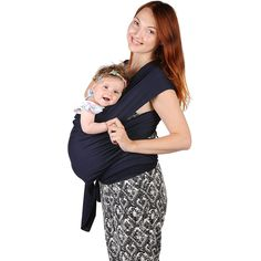 255f28c9f97 Baby Sling Carrier - Natural Cotton Nursing Moby Cover For Newborns  Breastfeeding Sling Baby Soft