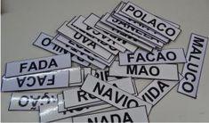 Cubo das Sílabas - Fichas para Imprimir