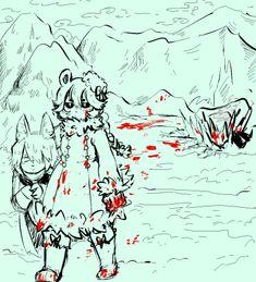 Ice Scream, Grey Gardens, Fanart, Deep Sea, Anime, Prisoner, Random Things, Artist, Blood