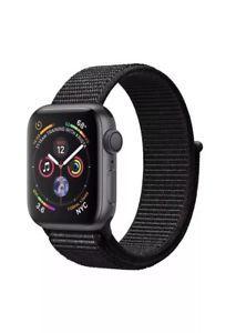 Apple Watch Series 4 (Gps + Cellular), Space Grey Aluminium Case With Black Sport Loop - Pace Grey - Ios Apple, Apple Watch Series 3, Fitness Tracker, Smartwatch, Wi Fi, Nike, Bluetooth, Sport Armband, E Sport