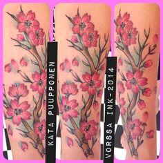 https://www.facebook.com/VorssaInk, http://tattoosbykata.blogspot.fi, #tattoo #tatuointi #katapuupponen #vorssaink #forssa #finland #traditionaltattoo #suomi #oldschool #pinup #cherry #flower