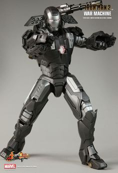 Hot Toys : Iron Man 2 - War Machine 1/6th scale Collectible Figure