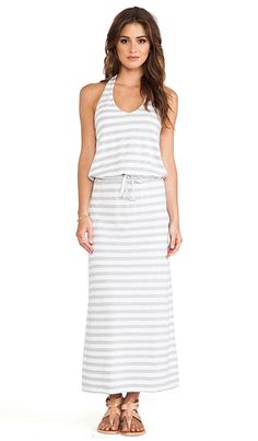 love the cinched in waist on this maxi