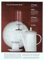Rosenthal China Patterns 1963 Ad Picture