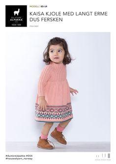 Little Girl Dresses, Little Girls, Baby Barn, Baby Knitting, Knit Dress, Knit Crochet, Knitting Patterns, Baby Kids, Kids Outfits