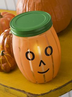 Martha Stewart Glass Paint Pumpkin Lantern