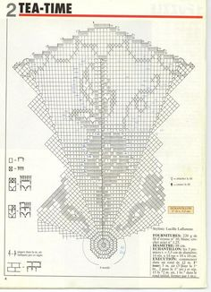 """Photo from album """"Tricot Selection Crochet d'Art on Yandex. Filet Crochet, Crochet Diagram, Crochet Round, Crochet Chart, Crochet Home, Thread Crochet, Crochet Stitches, Crochet Angel Pattern, Crochet Tablecloth Pattern"""