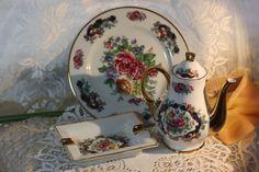 Vintage Porcelain Portugal 3 Piece Set. Starting at $35