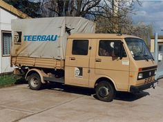 Volkswagen LT28D TEERBAU Vw Lt, Volkswagen Transporter, Motorhome, Caravan, Trucks, Vehicles, Truck, Rv, Motor Homes
