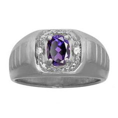 Diamond Black Rhodium Plated White Gold Men's Alexandrite Ring Gemologica.com offers a unique and simple selection of handmade fashion and fine jewelry for men, woman and children to make a statement. We offer earrings, bracelets, necklaces, pendants, rings and accessories with gemstones, diamonds and birthstones available in Sterling Silver, 10K, 14K and 18K yellow, rose and white gold, titanium and silver metal. Shop Gemologica jewellery now for cool cute design ideas