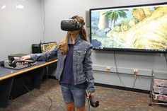 These educators are embracing virtual reality as a new tool for student engagement, collaboration, and content creation. Augmented Virtual Reality, Student Engagement, Educational Technology, Travel Around The World, Vr, 21st Century, Innovation, Journal, Explore