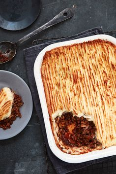 Mary Berry's Cottage Pie with Thyme and Mushrooms, the perfect Autumn dinner recipe or comfort food idea.
