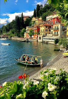 Have you ever been to Varenna? Use to share your photos from the region and look for travel inspiration for your next vacation! The Places Youll Go, Places To Go, Comer See, Lake Como Italy, Beautiful Places To Travel, Romantic Travel, Dream Vacations, Travel Around The World, Italy Travel