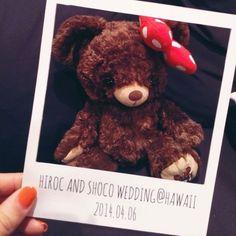 ((✰ 手作りフォトプロップスその②  ((⋈ shocoのHawaii Wedding&Maternity(4.27予定日)ブログ