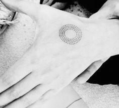 "Australian Aboriginal Symbol Meaning ""Life""."