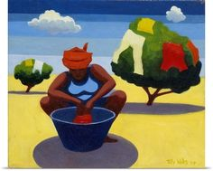 A Drying Day, 2007 (oil on canvas)