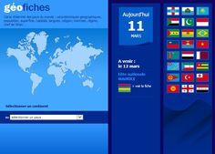 Des fiches pour enseigner et réviser la géographie de chaque pays