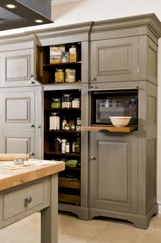 New Kitchen Pantry Cabinet Free Standing Ikea Ideas Built In Microwave Cabinet, Pantry Cabinet Free Standing, Free Standing Kitchen Cabinets, Kitchen Pantry Cabinets, Kitchen Redo, Kitchen Storage, Kitchen Remodel, Ikea Kitchen, Pantry Cupboard