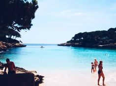 Throwback (even though it's not Thursday) to my very first parent free holiday abroad! Who new Majorca could be this beautiful! Yes, I was unfortunately drunk most of the time. #travel #travelblogger #traveller #wunderlust #blogger #majorca #holiday #ocean #beach #vacation #mallorca #island #sand
