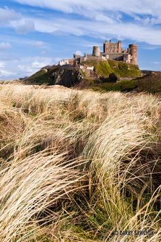 Bamburgh Castle in Northumberland, England