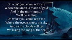 "The most beautiful song ""Song of The Sea (lullaby)"" - lyrics"