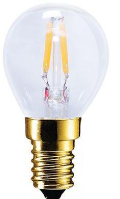 LED lamp 2.2W E14 filament Segula dimbaar 50204 groot