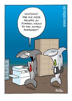 Hai - Kopierer | Ruthe | Echte Postkarten online versenden | Ruthe