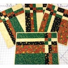 Christmas Take Four Placemats Kit by Creative Quilt Kits