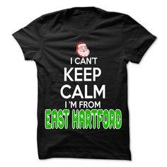 Keep Calm East Hartford... Christmas Time - 99 Cool City Shirt !