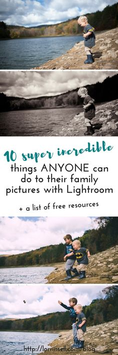 I can't believe how easy it is for anyone to edit their pictures using Lightroom.  It's not like you have to be a pro to edit your family pictures.  There are so many cool things you can do with Lightroom, and it's so user-friendly!